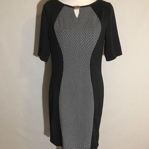 black body con sheath dress